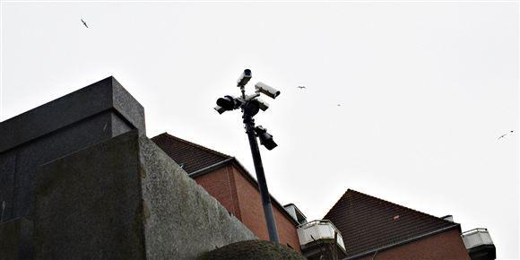Tirsdag fremlagde Dansk Folkeparti en politipakke, hvor de bl.a. ønsker øget videoovervågning i landets større byer. Arkivfoto.
