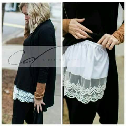 Blouse extention #DIY #CRAFT #FASHION
