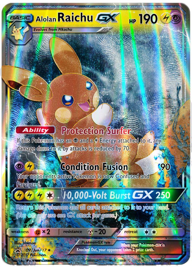 Image result for raichu gx rare pokemon cards raichu