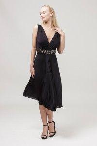 8964 sukienka wizytowa #eveningdress #blackdress #partydress