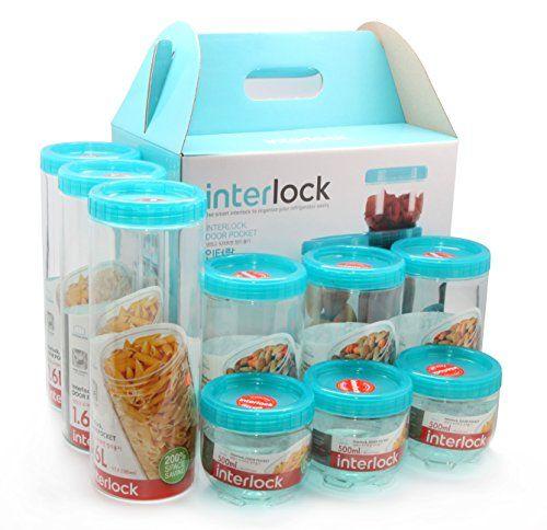 Lock U0026 Lock Refrigerator Door Clean Up Food Storage 9 Con... Https: