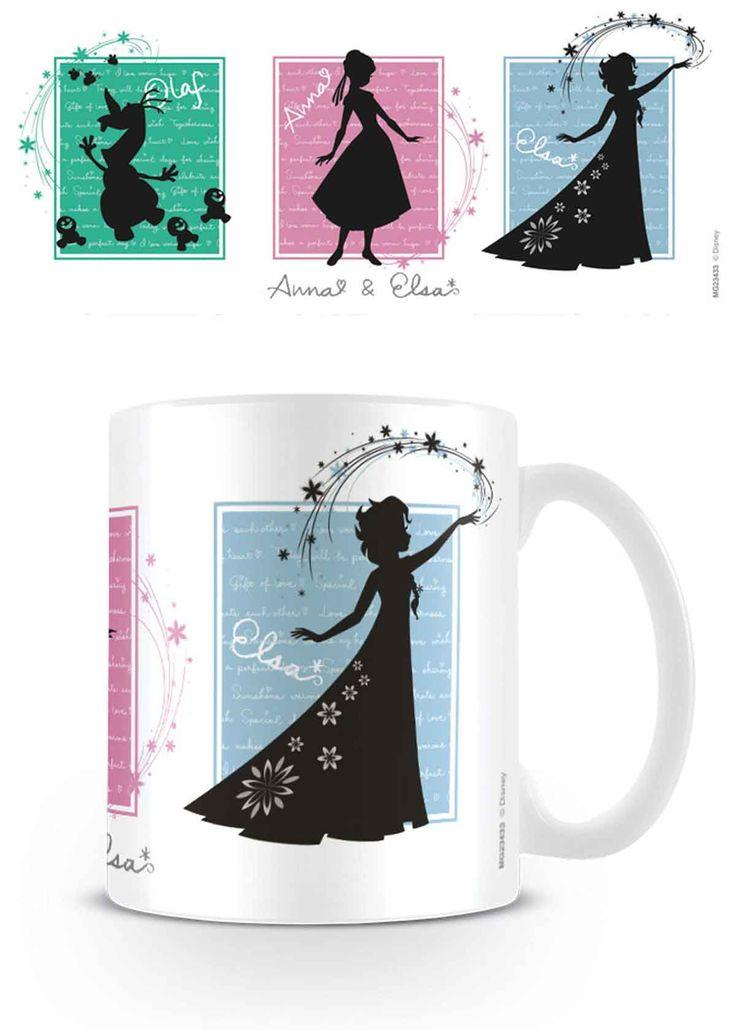 Disney Frozen Silhouettes Mug
