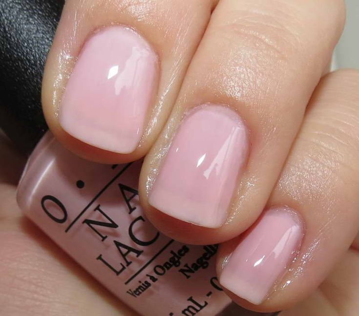 1000+ Ideas About Light Pink Nail Polish On Pinterest