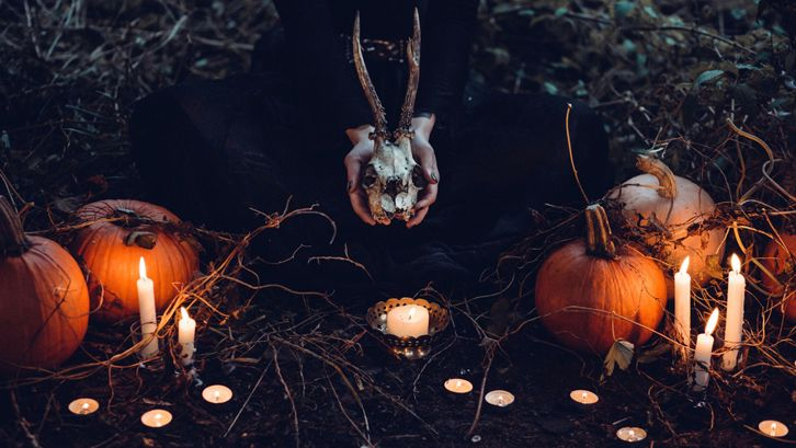 Ide dekorasi Helloween