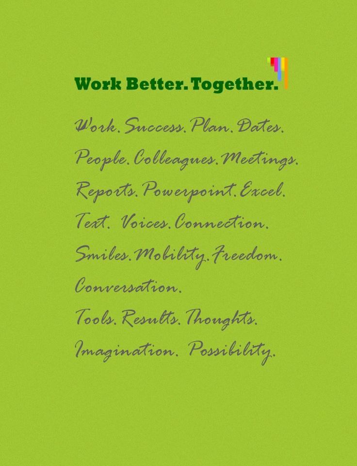 Work Better. Together.