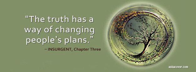 Quote from Insurgent (Divergent sequel) Facebook Cover