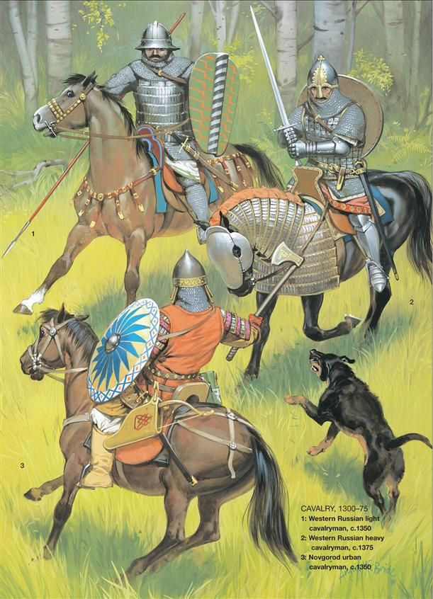 Medieval Russian Armies 1250–1500, Russian Cavalry 1300-1375. Osprey Publishing