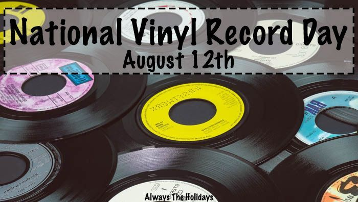 National Vinyl Record Day Fun Facts And A Celebration Of Vinyl Records In 2020 Record Day Vinyl Records Records
