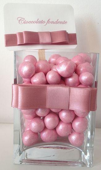 confettata matrimonio in rosa antico
