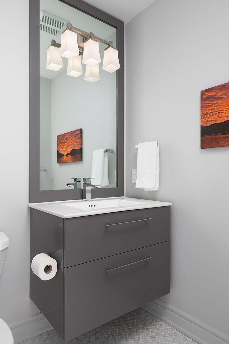17 Wide Bathroom Vanity: 17 Best Ideas About Grey Bathroom Vanity On Pinterest