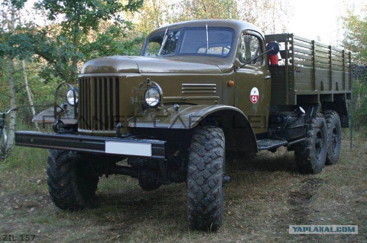 Soviet Army ZIL-157 truck
