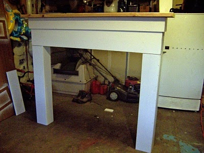 50 best diy mantels images on pinterest fireplace mantels mantles diy fireplace mantel solutioingenieria Images