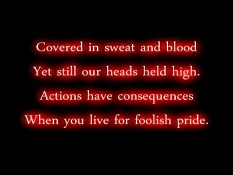 Honor -Atreyu  Lyrics
