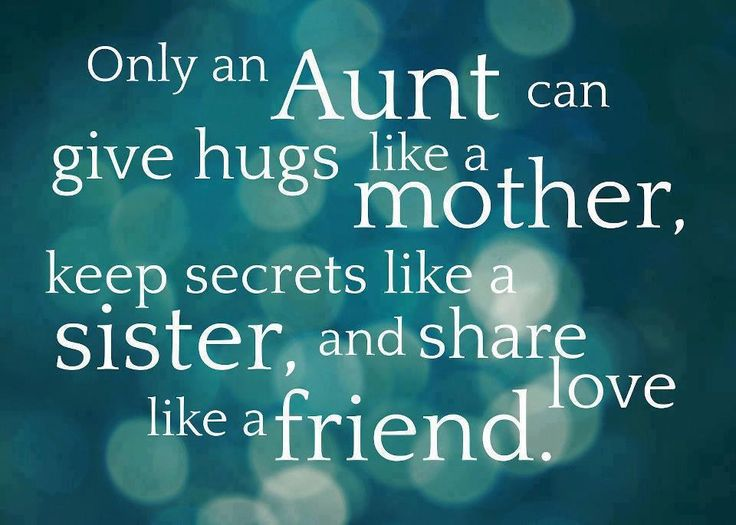 I'm so blessed God gave me guardian angel I call my aunt!!