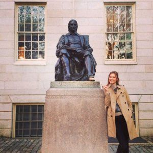 Karlie Kloss Is Being Scholarly at Harvard Right Now