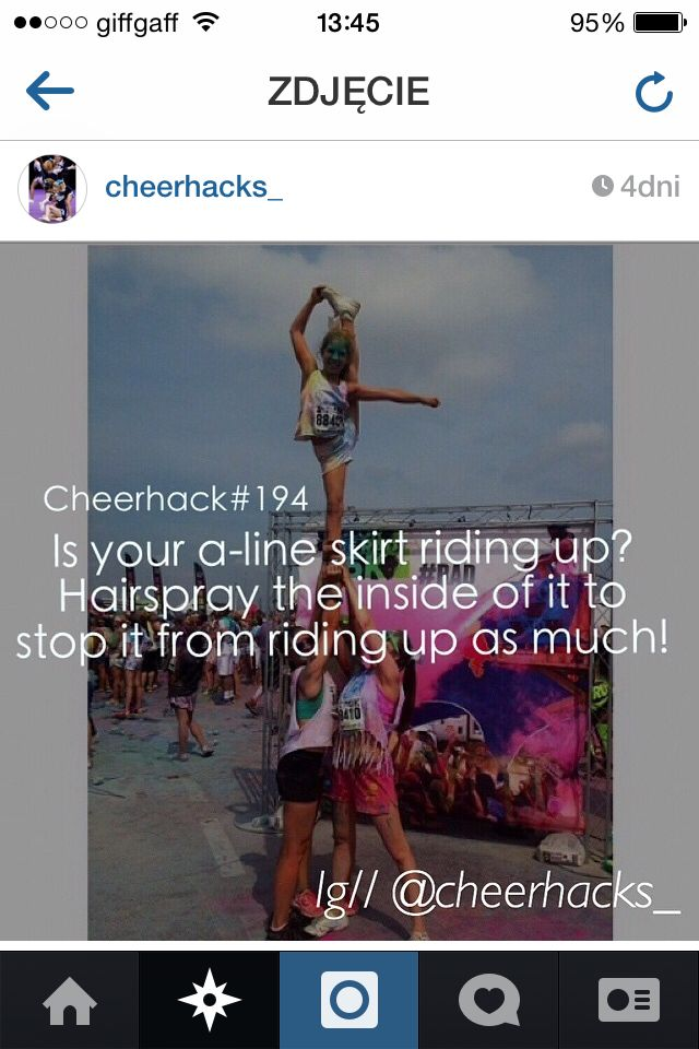 An awesome cheer hack!!