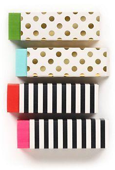 Kate Spade Erasers