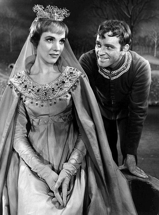 Richard Burton, Julie Andrews, Skuespiller