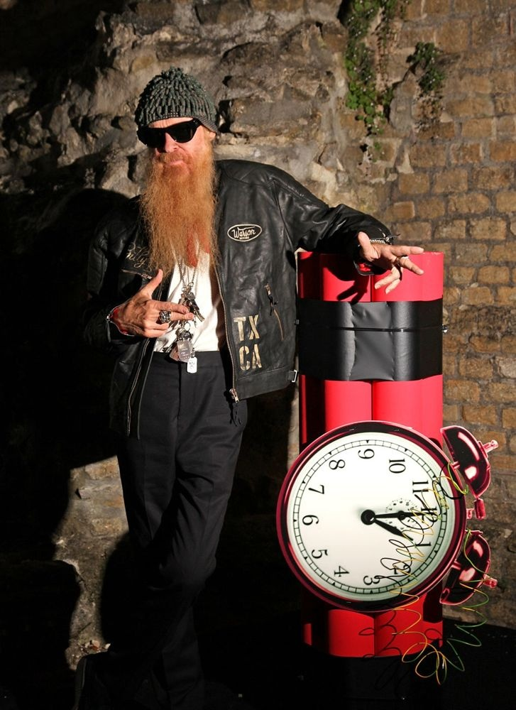 Coolest Hat Ever >> Billy Gibbons #jacket #leather | They choose the Best | Pinterest | Billy gibbons and Zz top