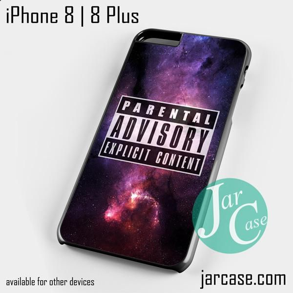 Parental Advisory Galaxy NT Phone case for iPhone 8 | 8 Plus