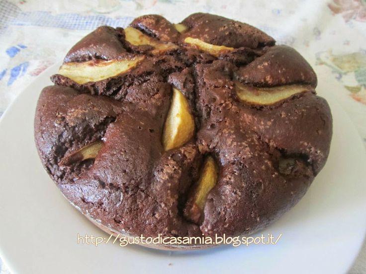 Gusto di casa mia: Torta al cacao con pere