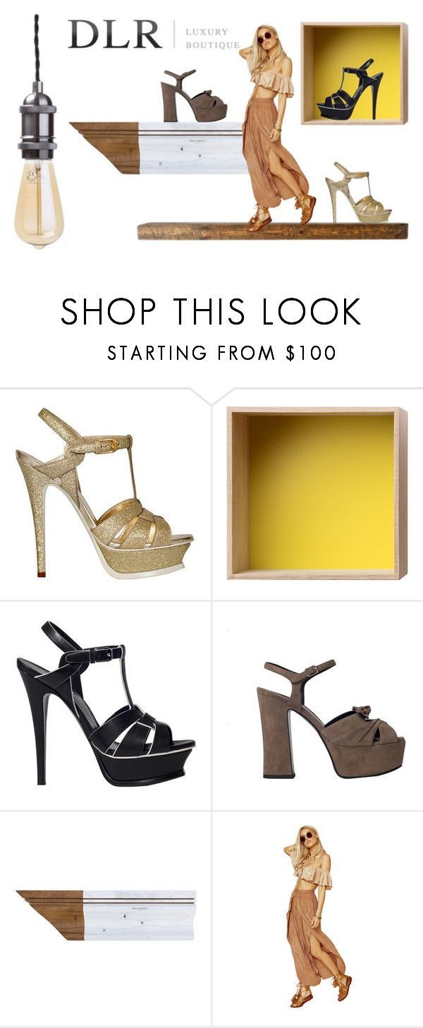 """""""Sales! DLR boutique"""" by jeezel ❤ liked on Polyvore featuring Yves Saint Laurent, Muuto and Maison Margiela"""