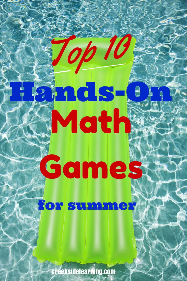 Top 10 Hands-On Math Games for Outside | Creekside Learning