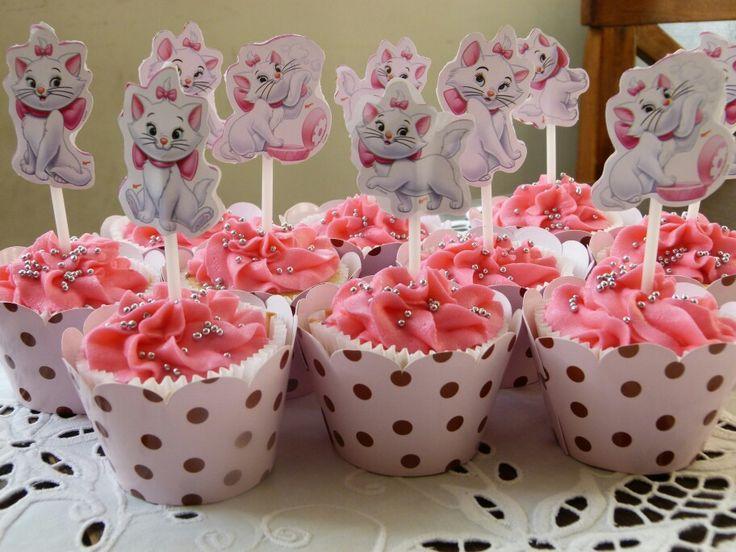 Cupcakes Gata Marie
