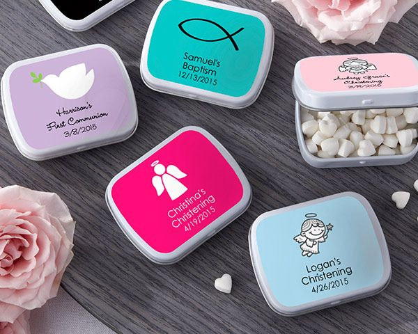 White Mint Tin - Religious (Available Personalized)