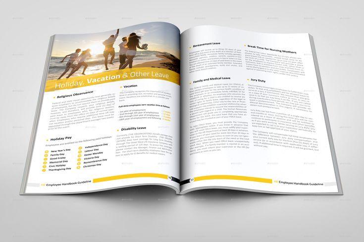 57 best Employee Handbooks images on Pinterest Desk ideas