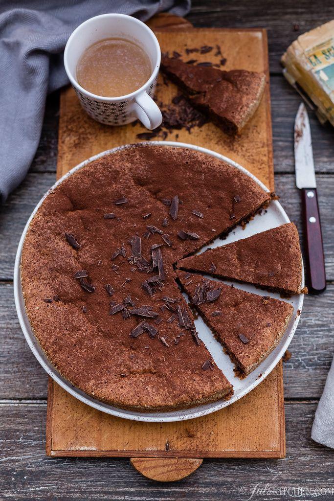 Walnut and chocolate cake