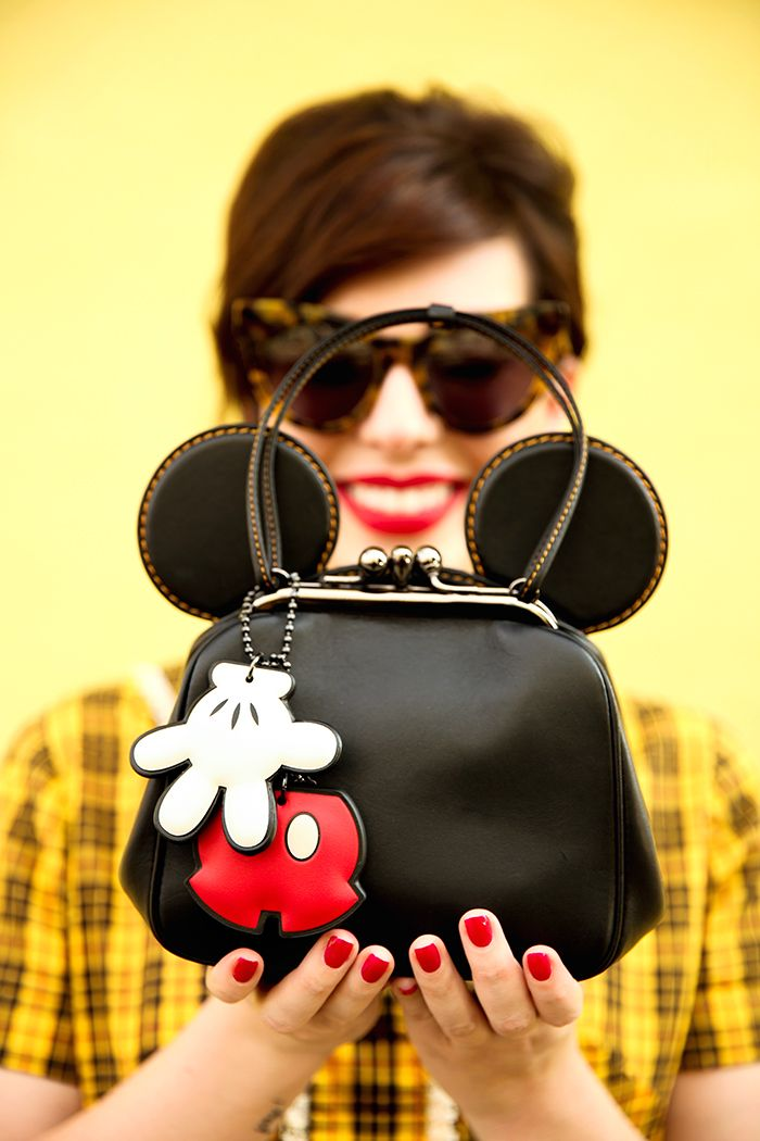 Disney x Coach Collection: Mickey Kisslock Bag