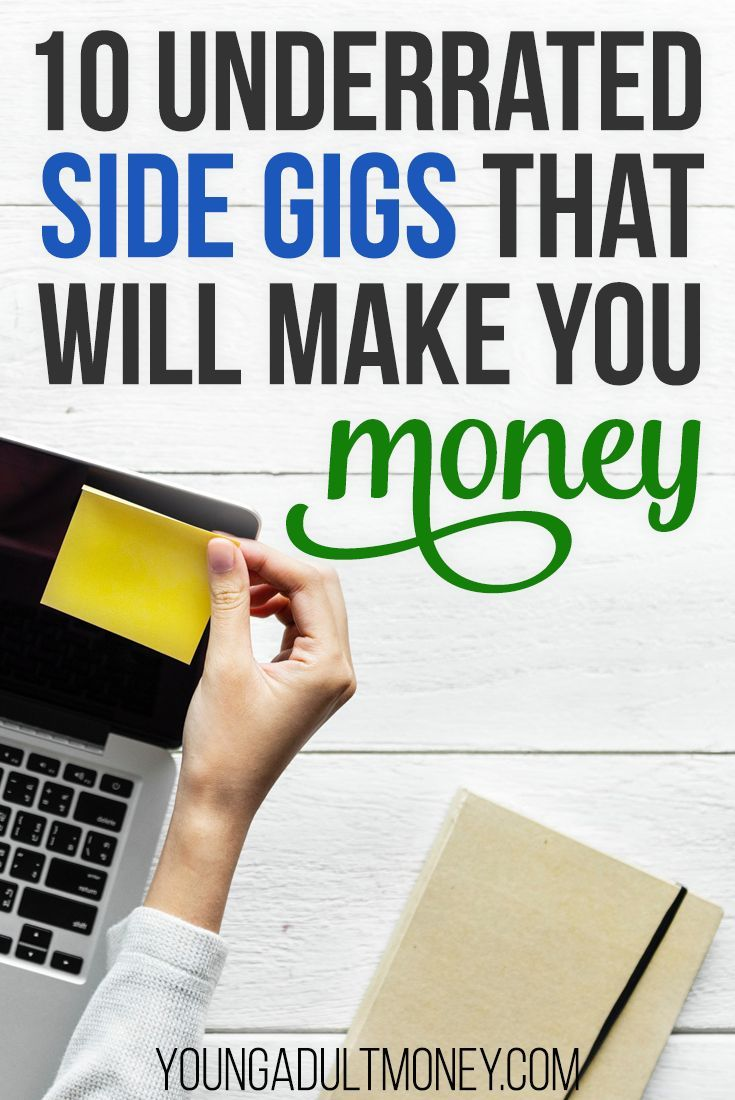 10 Underrated Side Gigs That Will Make You Money Side Gigs Earn Money Online Smart Money