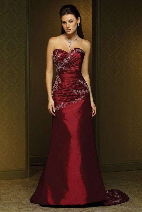 Red Christmas Wedding Dress