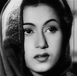 milk honey tea — Madhubala in Mahal (1949)