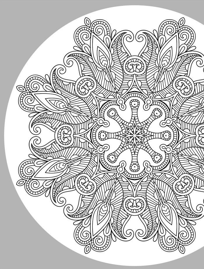 627 Best Images About Mandalas To Color On Pinterest