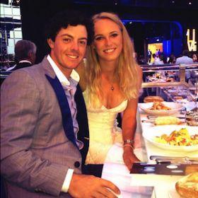 Caroline Wozniacki, Rory McIlroy Celebrate Engagement [READ MORE: http://uinterview.com/news/caroline-wozniacki-rory-mcilroy-celebrate-engagement-10002] #carolinewozniacki #rorymcilroy #engaged #engagements #celebengagements #engagementrings #engagementring #australia #nye