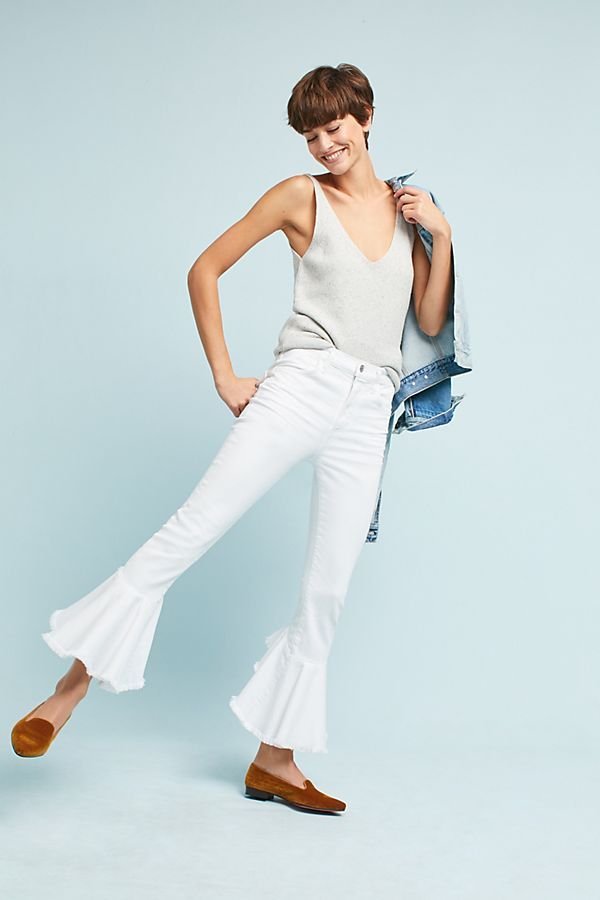 Slide View: 3: Citizens of Humanity Drew High-Rise Cropped Flare Jeans