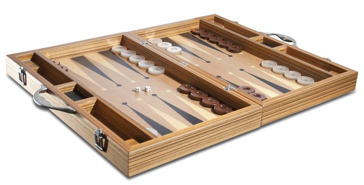 SY BACKGAMMON / TAVLA | Era Collection | Era40 Zebrano