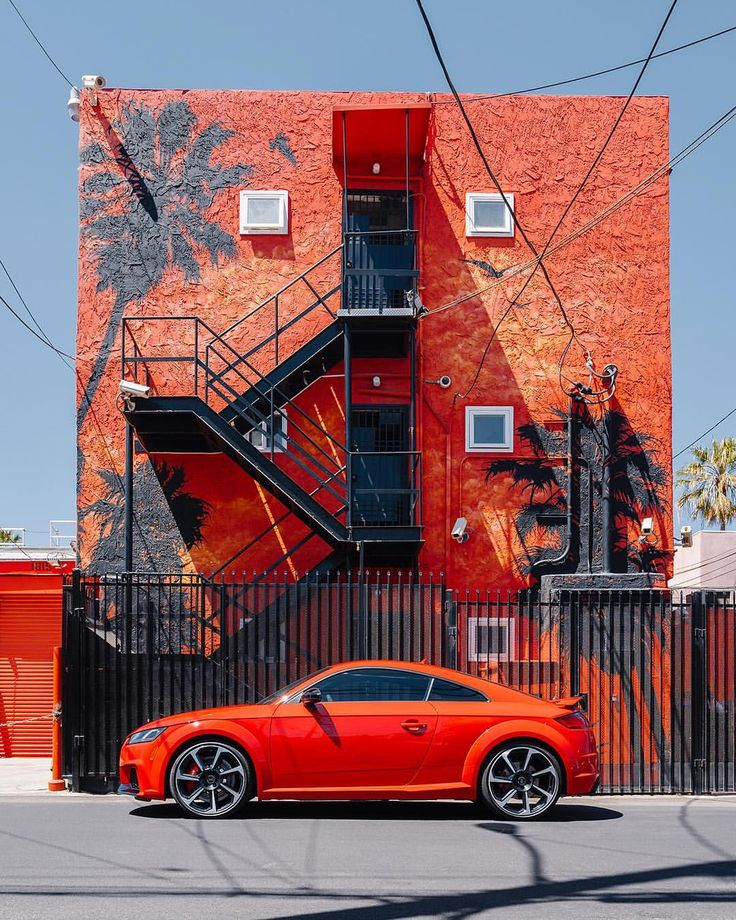"124.2k Likes, 267 Comments - Audi (@audi) on Instagram: ""All red everything. The TT RS burns up Venice. #GramTour 📷: @chriscreature"""