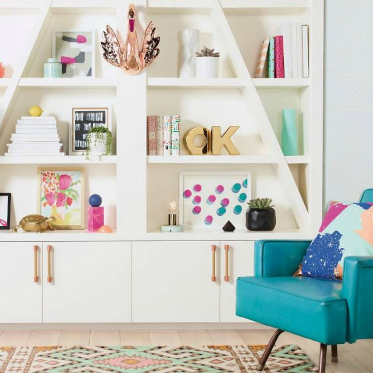 See how to recreate a trendy space like this in your very own home.
