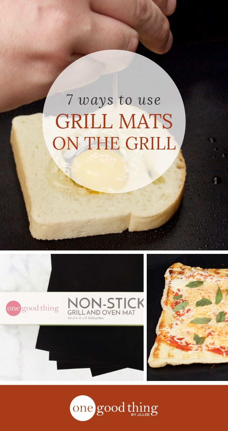 Check out 7 of my favorite ways to use grill mats on an outdoor grill. You'll be amazed at just how many things you'll be able to make on your grill!