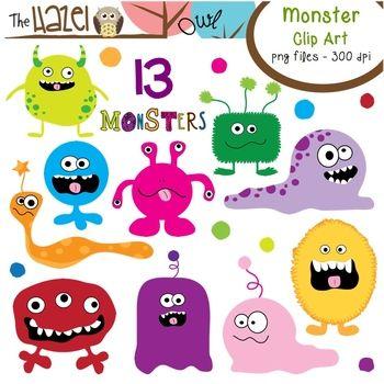 Monster Clip Art!!
