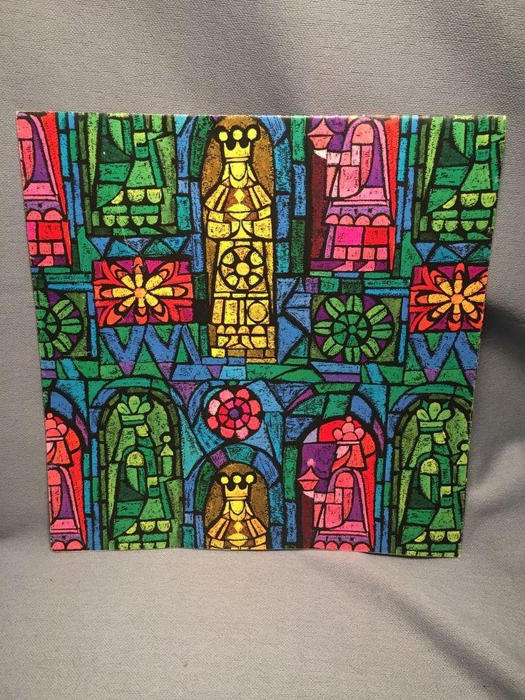 Vintage Christmas Wrapping Paper Wise Men/ 3 Kings Magi 1 Sheet 20x26