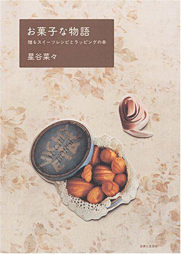 お菓子な物語―贈るスイーツレシピとラッピングの本 星谷 菜々 http://www.amazon.co.jp/dp/4391133695/ref=cm_sw_r_pi_dp_QZKNub1A9Q7CS