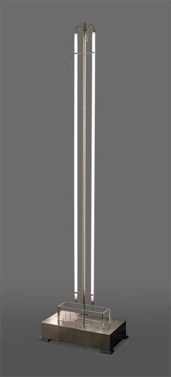 The fluorescent tubes