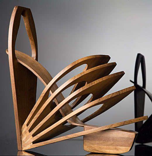 Sculptural Steel Shoes: Chau Har Lee Creates Architectural Laser Cut Footwear