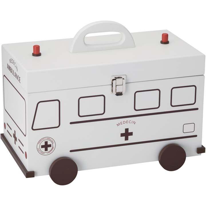 楽天市場 救急箱 救急車 ホワイト 60057送料無料 ファーストエイド 救急用品 ボックス 収納 薬入れ イシグロ D 子育てママの店 ベビー キッズ 救急箱 収納ボックス 子育て