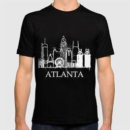 Atlanta Skyline Funny Souvenir Gift T-shirt