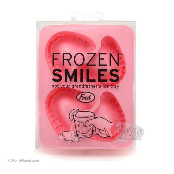 Frozen Smiles Dentures Ice Cube Trays